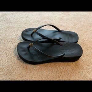 Tory Burch Wedge Flip Flops